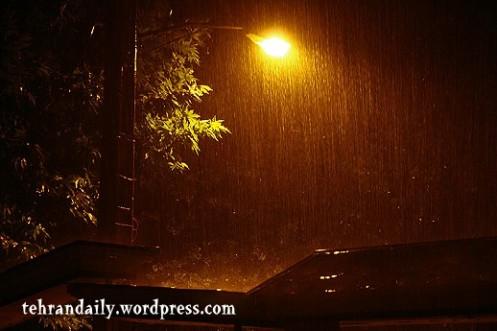Tehran Summer Rain