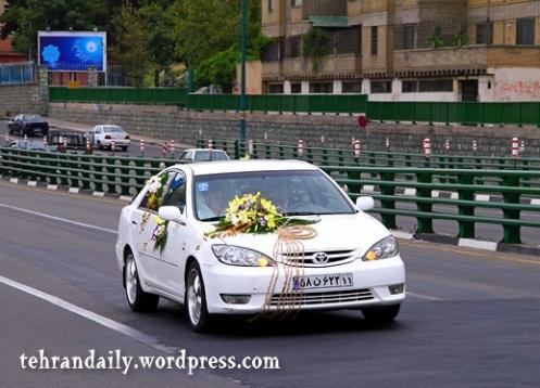 A Wedding Car in Tehran