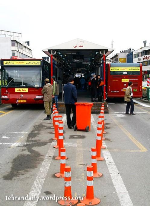 Tehran New BRT Stations