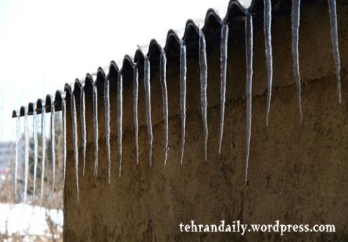 Tehran Icy Days