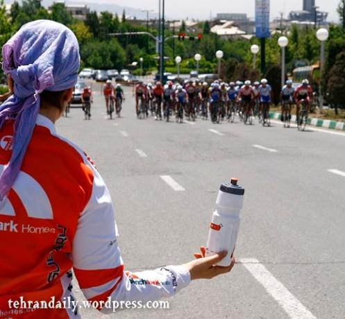 International Cycling Race in Tehran