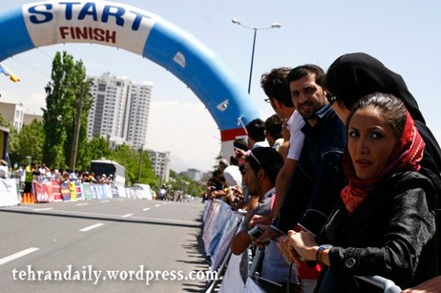 International Cycling Race in Tehran