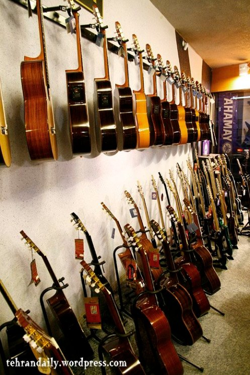 Musical Instruments Shop in Tehran