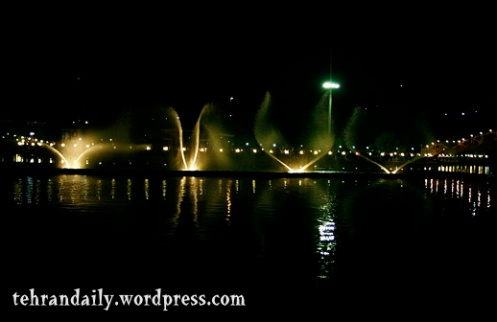 The 1st Musical Fountain in Tehran