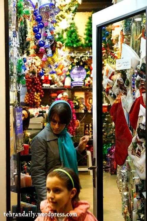Christmas Night in Tehran