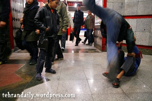 Boys in Metro