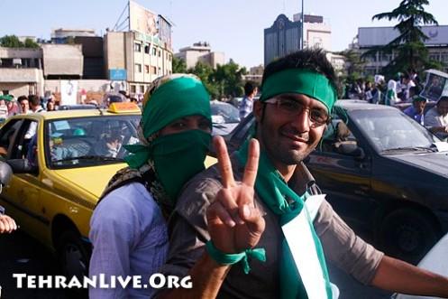 Human Green Chain in Tehran