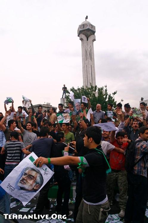 Conflict between Musavi and Ahmadinejad Fans