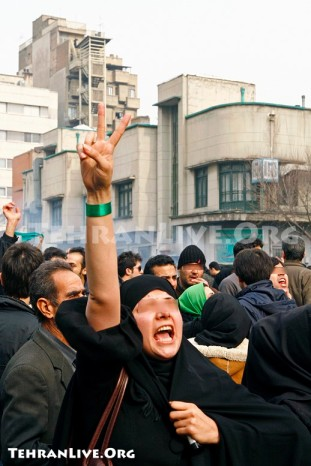 War In Tehran Streets on Ashura