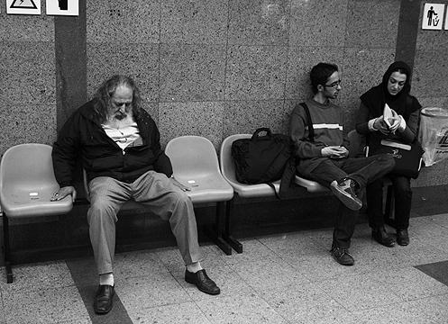 Slept in Metro