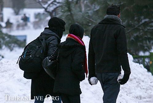 Tehran and Snow