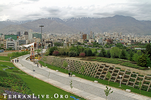 Spring view of Shemiran