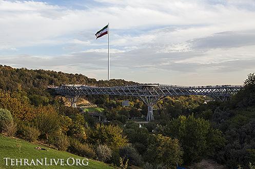 Tabiat (Nature) Bridge,  is the biggest walking bridge in Iran and ...
